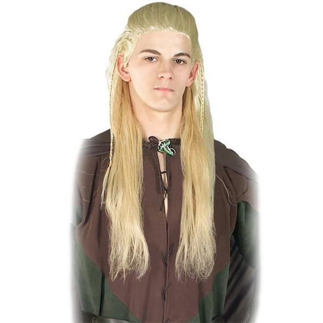 Legolas Greenleaf Wig Lord of the Rings Hobbit Elf Costume Halloween