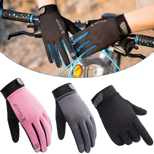 Outdoor Cycling Full Finger Glove Riding Sports Anti Slip Breathable Glove