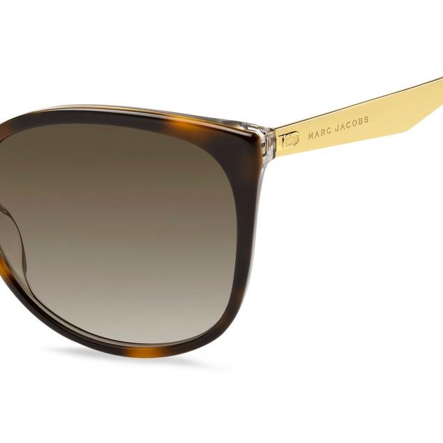 Marc Jacobs Women Sunglasses MARC203S 086 Havana Cat Eye/Butterfly Gradient
