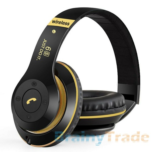 Foldable Wireless Bluetooth Headphones Noise Cancelling Headset