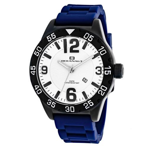 Oceanaut Men's Aqua One White Dial Watch - OC2714