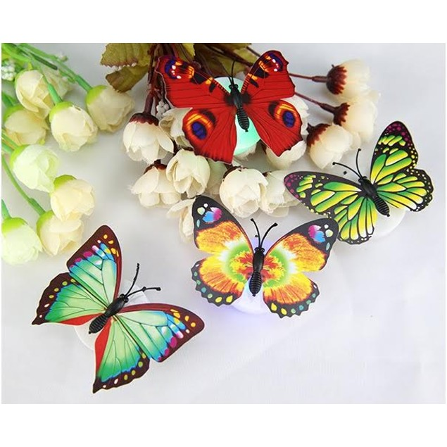 4-Pack LED Butterfly