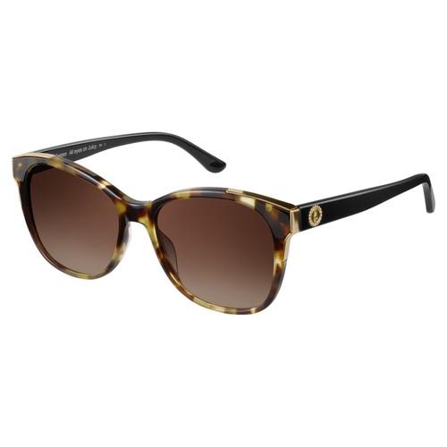 Juicy Couture Women Sunglasses JU593S 0N19 Khaki Havana/Black Square Gradient