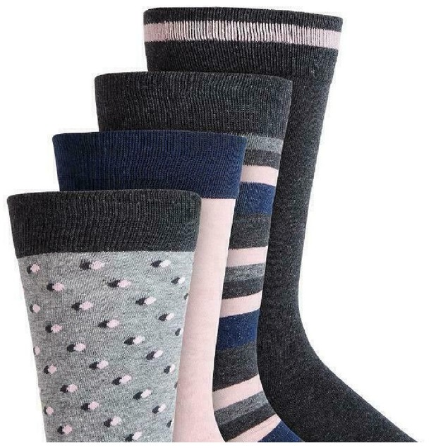 Bar III Men's 4-Pk. Socks  Gray Size Regular