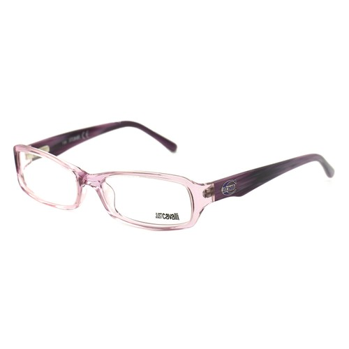 Just Cavalli Women's Eyeglasses JC0285 080 Purple 54 16 130 Full-Rim Rectangular