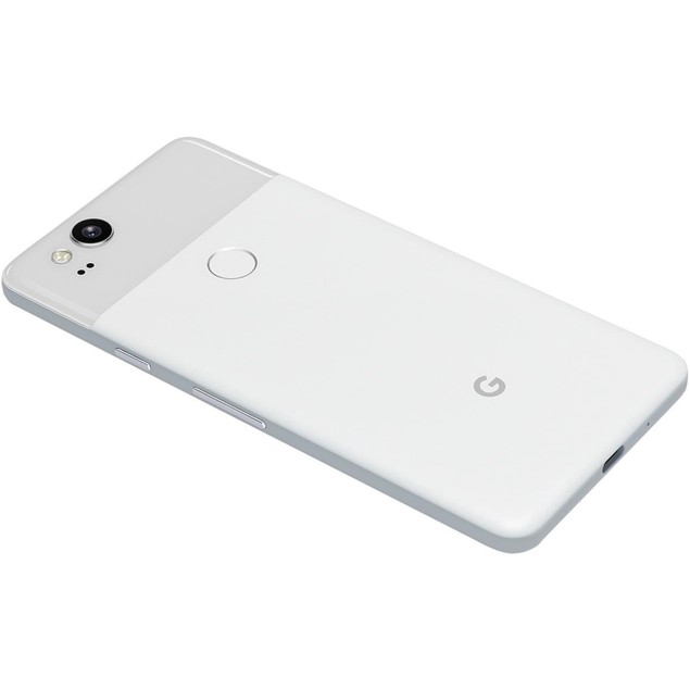 "Google Pixel 2 128GB 5.0"" 4G LTE, Clearly White (Refurbished)"
