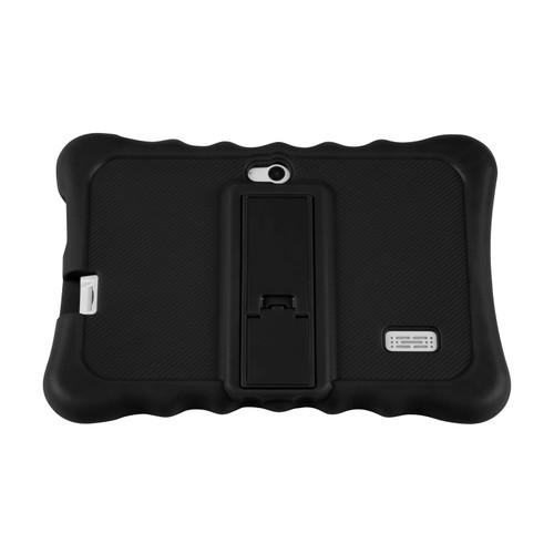 """Shock-resistant Silicone Snap-on Case with Stand for 7"""" Tablets"""