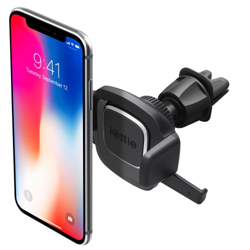 iOttie Easy One Touch 4 Air Vent Car Mount Phone Holder, For Iphone, Samsung, Moto, Huawei, Nokia, LG, Smartphones