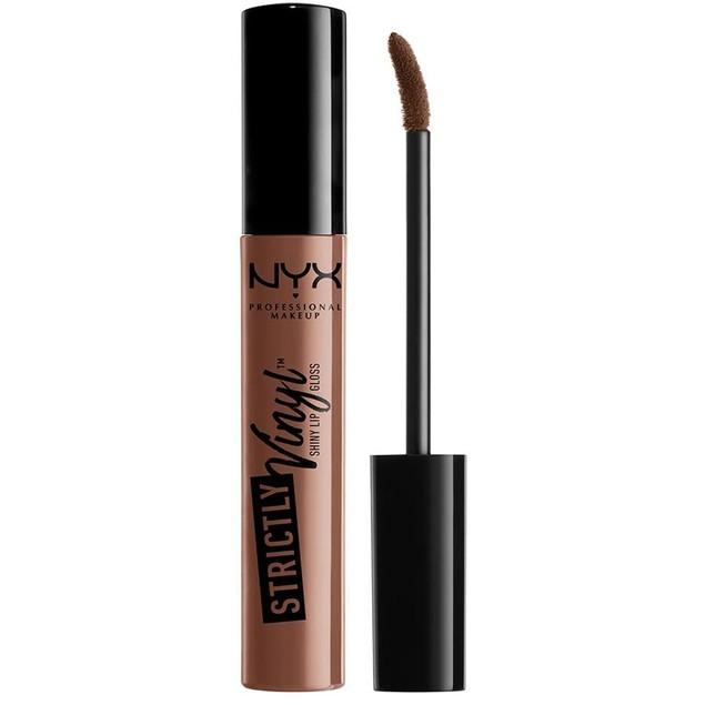 NYX Professional Makeup Strictly Vinyl Lip Gloss, Sugar Mama, 0.11 Ounce,