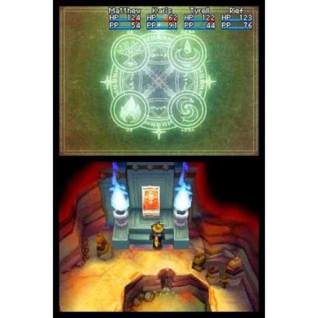 Golden Sun Dark Dawn Game DS