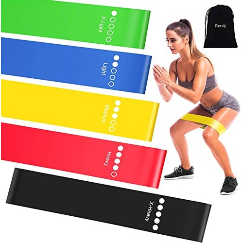 Resistance/Exercise Bands Set- Come with Flannel Carrying Bag