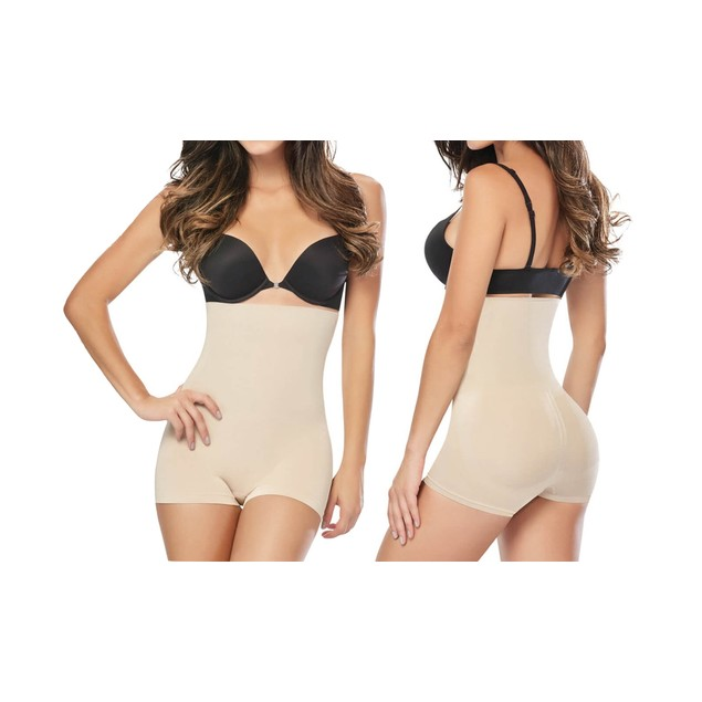 Women's High-Waist Boyshort Shapewear