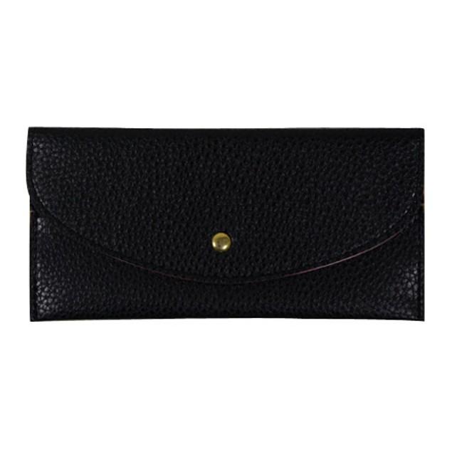 Women Faux Leather Thin Purse Long Clutch Wallet Card Holder Handbag