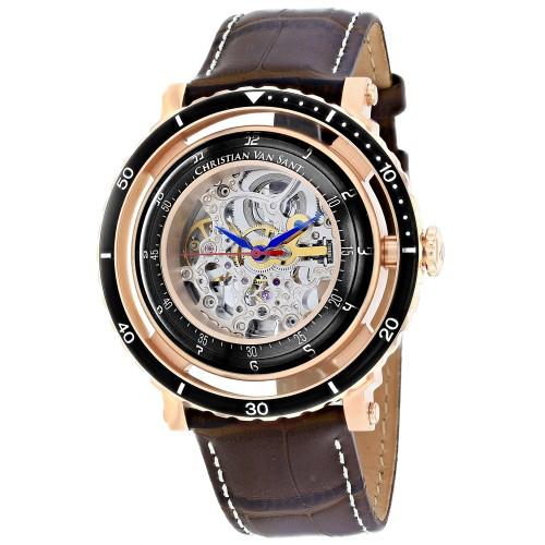 Christian Van Sant Men's Dome Silver Dial Watch - CV0744