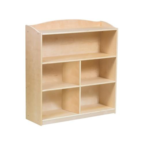 GuideCraft Sgl Sided Bookcase -36 InchesHg