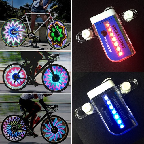14 LED Motorcycle Bicycle Bike Wheel Signal Tire Spoke Light