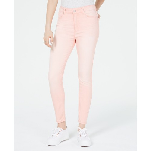 Celebrity Women's Pink Juniors' Colored Skinny Ankle Jeans Pink Size 13
