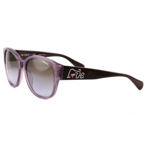Vogue Sunglasses VO2869S-B 2195/68 Transparent Opal Violet/Violet Gradient Full