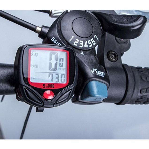 Waterproof Bike Cycle Digital LCD Display Computer Speedometer Odometer