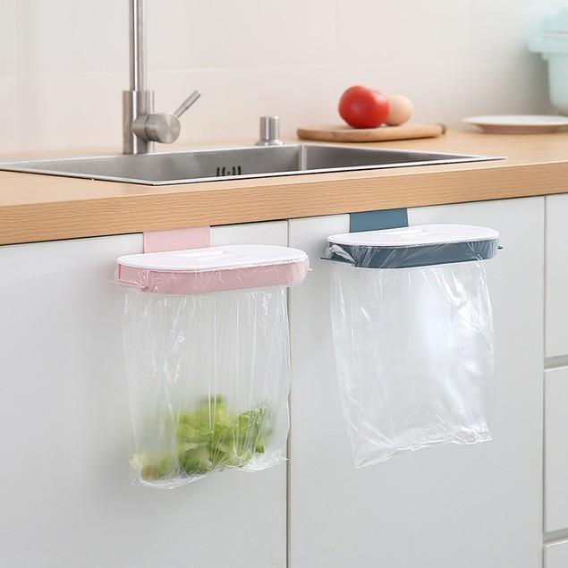 Hanging Kitchen Garbage Bag Multifunctional Storage Rack
