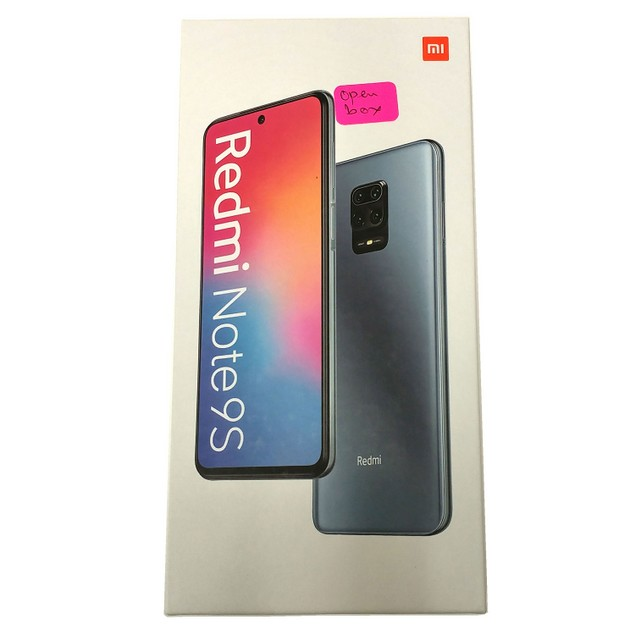 OB Xiaomi Redmi Note 9S 128GB Dual SIM GSM Unlocked 6GB RAM Phone - White