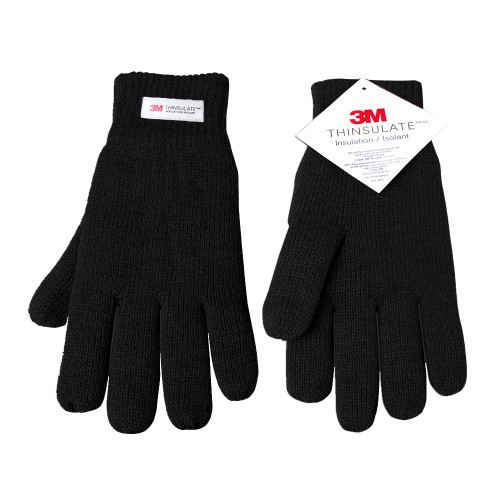 3M Thinsulate Thermal Insulated Lined Gloves, Double Layer Knitted Gloves