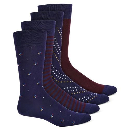 Alfani Men's 4-Pk. Socks Navy Size Regular