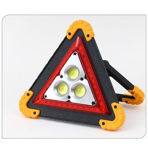 Emergency Triangle Roadside Warning Light