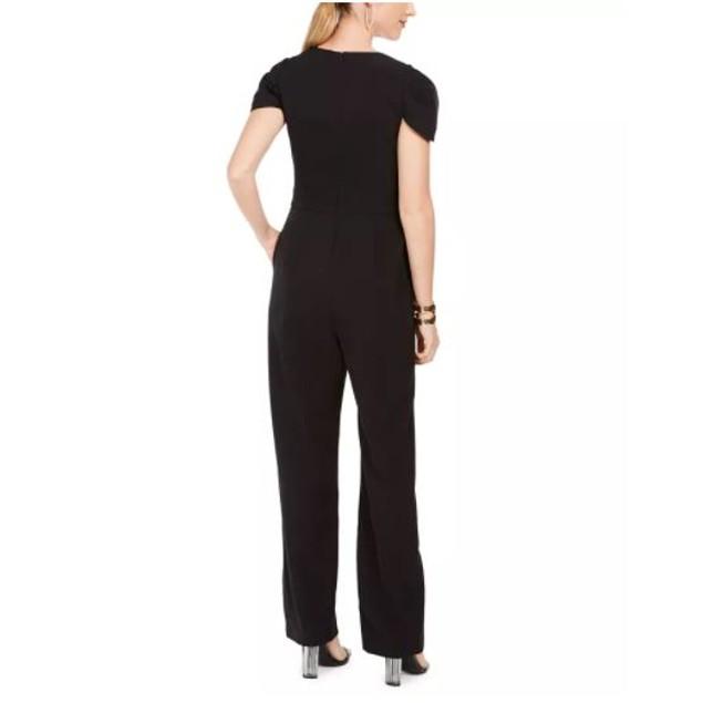 Vince Camuto Women's Wide Leg Jumpsuit Black Size 10