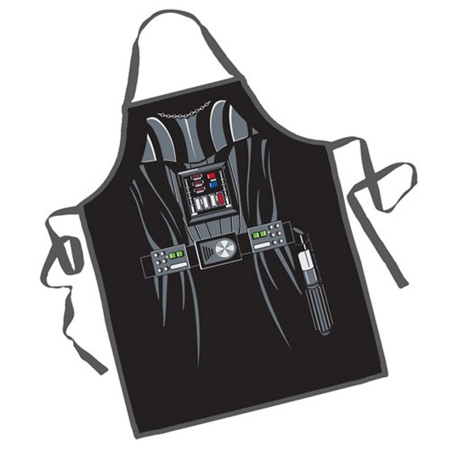 Darth Vader Apron Star Wars Character Cook Costume Cooking Chef BBQ Black