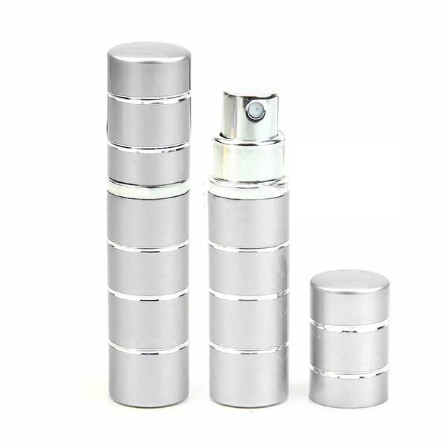 Travel Portable Refillable Perfume Atomizer Bottle Scent Pump Sprayer 5ml
