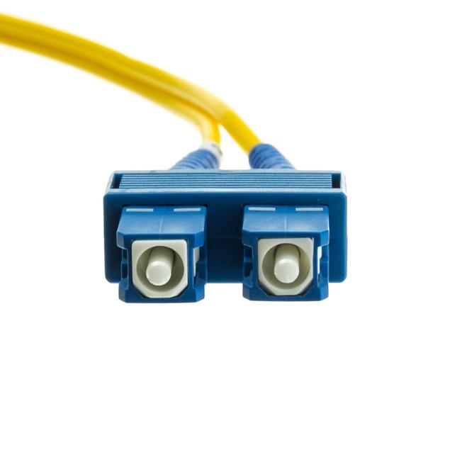 Fiber Optic Cable, SC / SC, Singlemode, (98.4ft)