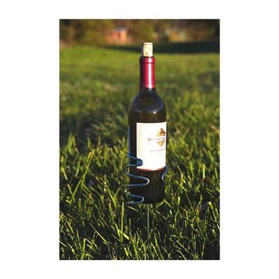 Picnic Plus Handy Holder Wine Bottle (1) Silver