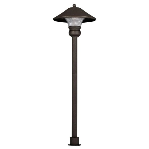 Hampton Bay Low Voltage, Bronze Outdoor LED Soft-Diffused Path Light
