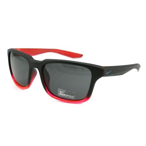Nike Essential Spree Men's Sunglasses NIKE EV1005 060 Matte Black/Red 57 18 145