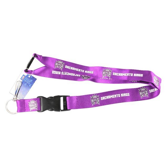 Sacramento Kings Clip Lanyard Keychain Id Holder Ticket - Purple