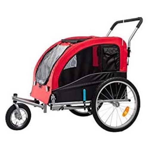 Midlee Dog Red Bike Stroller (Medium)