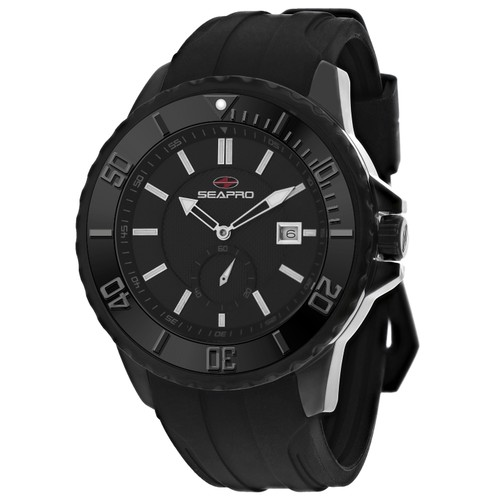 Seapro Men's Force Black Dial Watch - SP0513