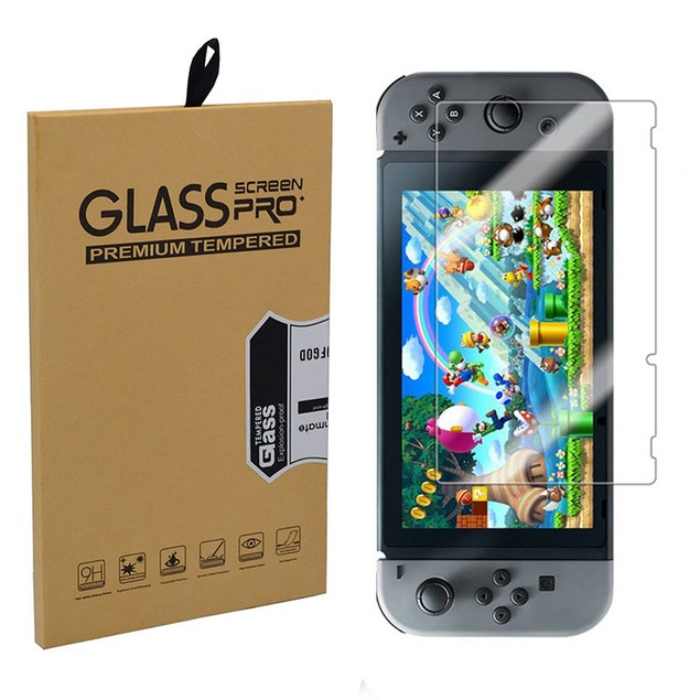 Premium Tempered Glass Screen Protector Film for Nintendo Switch