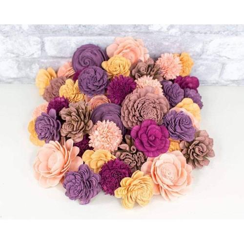 Sola Wood Flowers Amarillo Sky Assortment 25/50 Pack