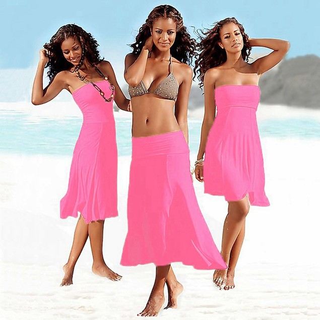 More Ways To Wear A Wrap Skirt Bikini
