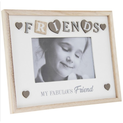 """Sentiments Frame Fabfriend 4X6"""" By Lesser and Pavey"""