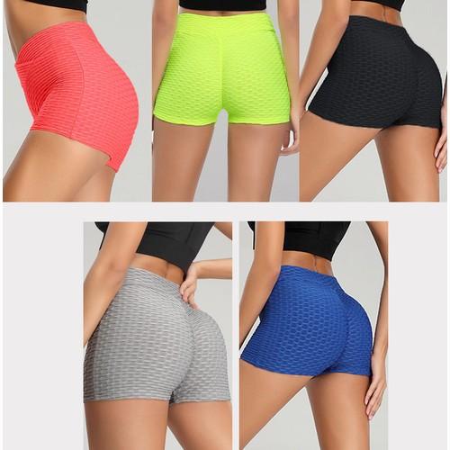 Women's Sports Yoga Bubble Shorts