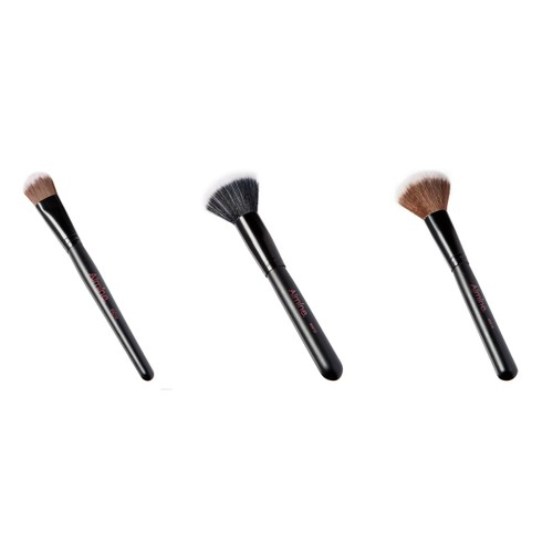 Three Piece Make Up Brush Sets