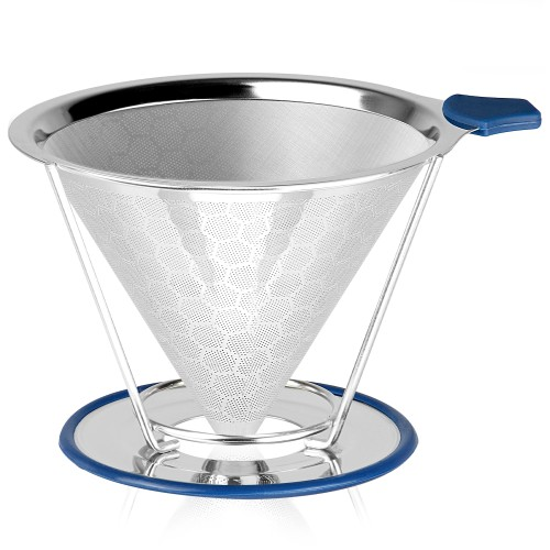 MandW Reusable Stainless Steel Coffee Filter