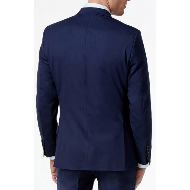 Lauren Ralph Lauren Men's Navy Suit Separate Jacket Blue Size 44