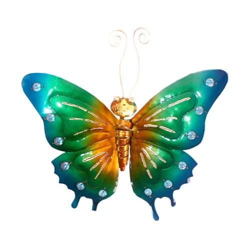 D-Art collection Home Accent Iron Butterfly Wall Decor Medium