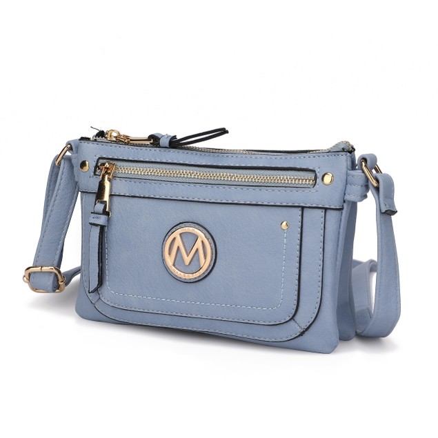 MKF Collection Elaina Crossbody Bag by Mia K