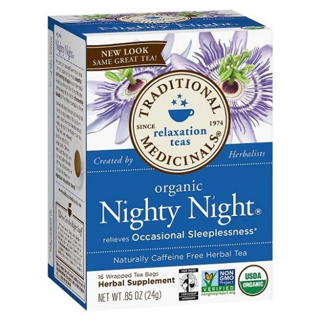 Traditional Medicinals Tea Organic Nighty Night 2 Box Pack