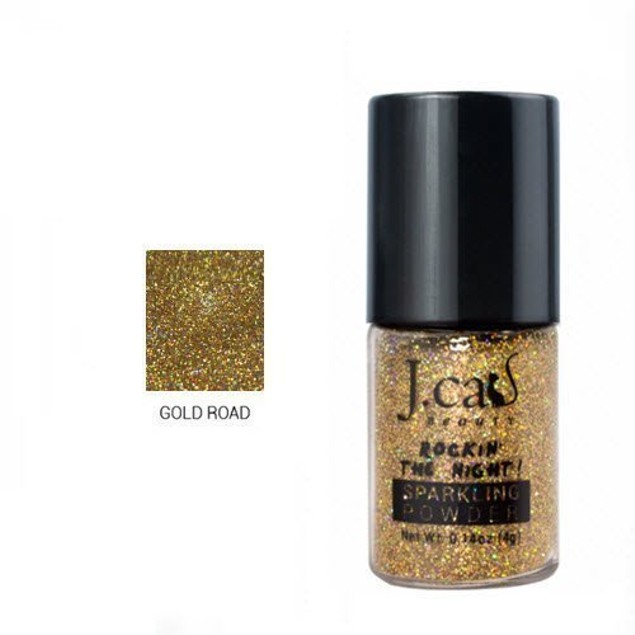 J.Cat Sparkling Powder 204 Gold Road
